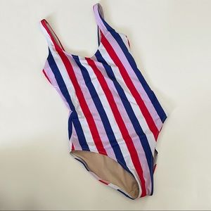 Old Navy Stripe One Piece Bathing Suit